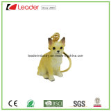 Handmade 3D Keychain with Chihuahua Dog Figurine for Souvenir and Promotion