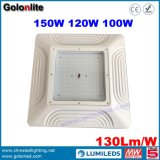 Recessed LED Downlight 100W 120W 150W Gas Station LED Canopy Light with 5 Years Warranty