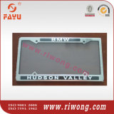 Stainless Steel Number Plate Surrounds with Sticker Logo