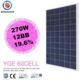 High Efficient Yingli IEC Yge 12bb Mbb 60 Cell 270W Poly Solar Panel for Roof Tiles with Cost Price in Poland