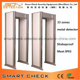 33 Zones Security Metal Detector, Door Frame Metal Detector, Walk Through Metal Detector