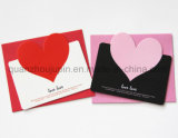 Custom Paper Valentine Greeting Wedding Invitation Card with Envelope