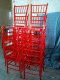 Transparent Red Tiffany Chair/Tiffany Chair/Chiavari Chair
