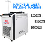 Hand-Held Fiber Laser Welding Machine for Aluminum Copper Stainless Steel with Feeding Wires Handheld Fiber Continuous/Spot Laser Welding Machine