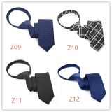 Wholesale Manufacturer Polyester Tie Zipper Tie (Z09-Z12)