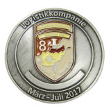 Promotion Jewelry Antique Silver Personalized Metal Enamel Coin as Business Gift (161)