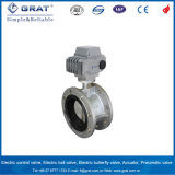 Ductile Iron Epoxy Double Flanged Butterfly Valve with Actuator
