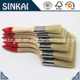 Cheap Painting Brush (Flat Brush with Synthetic Filament, Platanus Orientails Wood)