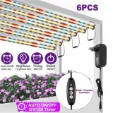 CE RoHS 100W LED Growing Plant Grow 4FT 47inch Tube Light, Red/Blue/White Full Spectrum, Grow Light, for Office Home Indoor Garden Greenhouse, Grow Lamp