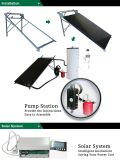 Solar Boiler System Kits Including Vertical Storage Tank, Solar Collectors, Pump Station and Expansion Vessel