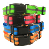 Dog Reflective Collar PVC Coated Polyester Adjustable Pet Product