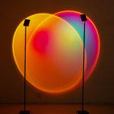 LED Sunset Web Celebrity Floor Living Room Bedroom Projection Sun Floor Lamp