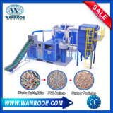 Metal Scrap Electrical Aluminum Copper Wire Cable Plastic Separator Removing Crimping Stripping Peeling Recycling Grinding Granulator Machine