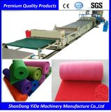 SPVC Sprayed Coil Car & Floor Carpet Plastic Extrusion Line