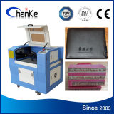 Ck6040 Paper Acrylic Rubber Wood CO2 Laser Engraver
