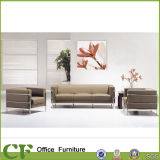 3+2+1 Customize Beige Office Reception Sofa CD-3604