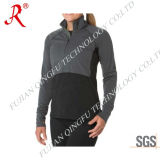 Women′s Quick Drying and Dry Fit Shirt with Zip (QF-1837)