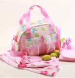 Carry Fashion Multifunction Diaper Bag with Baby Mat