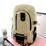 Shoulder Canvas Backpack for Campus and Student