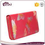 Fani Custom Butterfly Print PU Leather Lady Coin Purses Wholesale