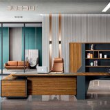 Luxury Wooden Modern Boss CEO Office Executive Desk