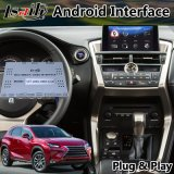 Android 9.0 GPS Navigation System for Lexus Nx300h Nx200t Wireless Carplay Video Interface