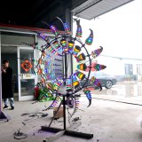 Automatic Art Wind Kinetic Sculpture Art for Garden Decor