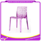 PMMA Transparent Beautiful Chair Plastic Mould with Arm