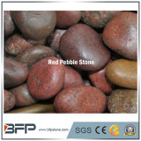 China Polished Red Pebble Stone with High Quality