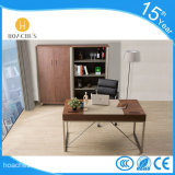 Simple New Style Office Table with Leather (WE02)