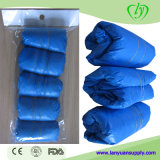 Plastic CPE Surgical Disposable Medical Shoecover for Supermarket