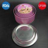 Round Cartoon Tin Box with Favorable Price (R008-V2)