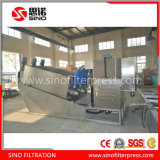 Stainless Steel Screw Filter Press Machine for Oil and Grease Sludge