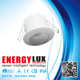 Es-P17A Easy Ceiling Mounting Infrared Motion Sensor Recessed Installation Flush Bond