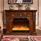sculpture Home Furniture Heating and Lighting Elctric Fireplace (318B)