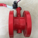 Cast Iron Fire Flange Butterfly Valve High Quality