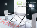 Black Glass Dining Table Furniture