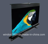 "80"" 4: 3 Floor Projector Screen, Portable Projector Screen"