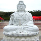Marble and Ganite Carved Buddha Statue