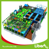 Kid′s Indoor Play Structure with Trampoline