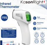 Supplies Ce Approved Fast Testing High Accuracy Fever Warning LCD Hospital Doctors Clinical Electronic Medical Non-Contact Digital Baby Infrared Thermometer