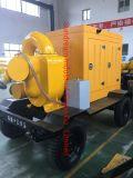 Vacuum Prime Assistant Diesel Engine Split Case Dewatering Centrifugal Water Pump