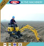 ACTIVE Brand 800kg Cheap Mini Excavator with Changchai 7.5kw Engine for Greenhouse