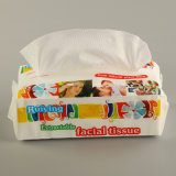 100% Bamboo Fabric Disposable Personal Cleaning Wipes Nonwoven Dry Towels