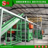 Secondary Recycling System to Shredding Used Car/Truck/Passanger Tires