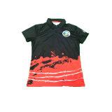 Custom Wholesale Logo Printed Short-Sleeve Golf Polo Shirt
