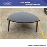 Triangle Aluminium & Glass Patio Table, Outdoor Garden Furniture (JG099)