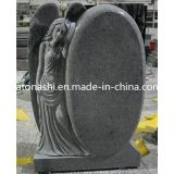 Granite Stone Carved Angel Gravestone / Monument / Tombstone for Cemetery