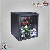 Liquor and Beverages Storage Showcase Refrigerator (SC-52)