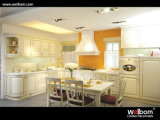 2015 [ Welbom ] Custom Made Oak Wood Kitchen Cabinet